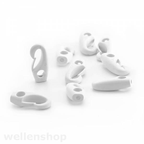 Plastikhaken für 6mm Gummiband Bild 1