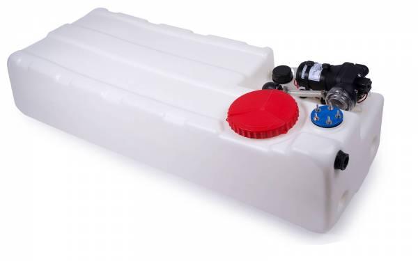 Nuova Rade Wassertank 100 L mit 12V Pumpe 8 L / min 1