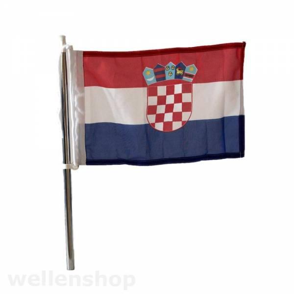 Flagge Kroatien 20 x 30 cm Bild 1