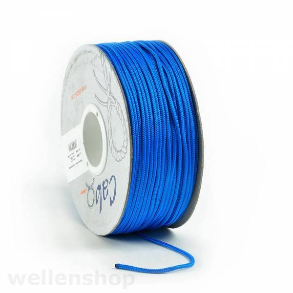 Surfleine Blau Ø6mm, Meterware-