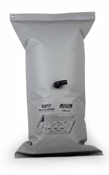 Wassertank grau flexibel 150 Liter Bild 1