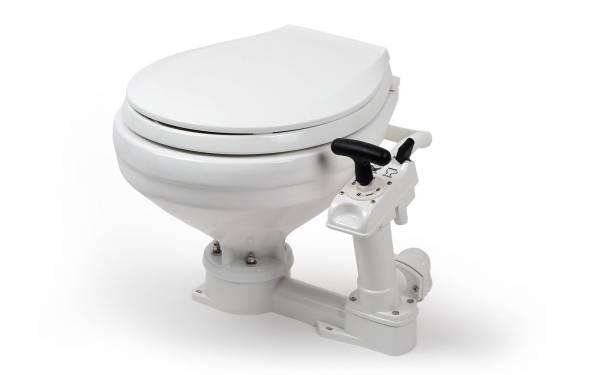 Toilette groß mit Handpumpe Bild 1