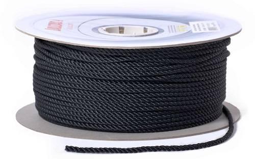 1 Meter Festmacher Ø 10mm Schwarz