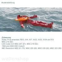Überlebensanzug SOLAS Neptune 55 - 95 kg Bild 2