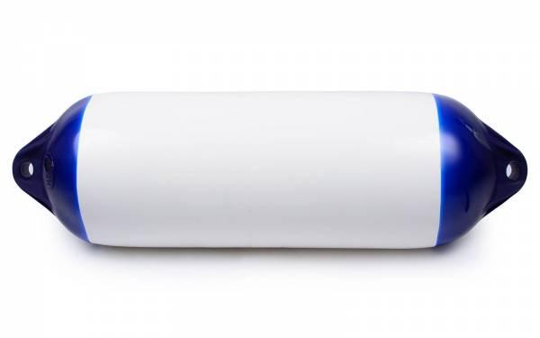 Ocean Fender 220 x 640 mm H5 aufblasbar mit Ventil Weiß Blau