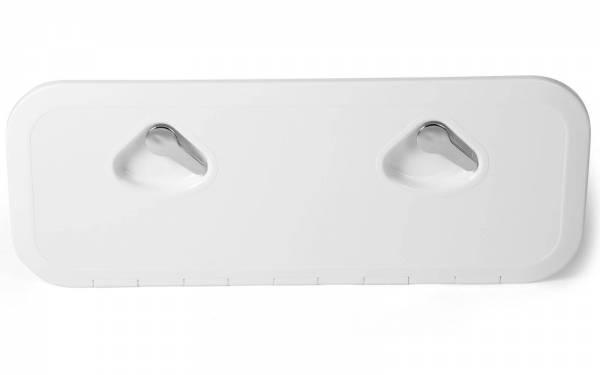 Inspektionsluke begehbar 243 x 607 mm Weiß | Lalizas
