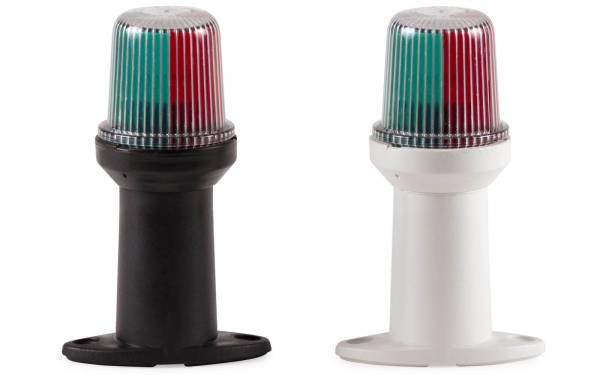 Dreifarbenlaterne - Heckleuchte Steuerbordlaterne Backbordlaterne Kunststoff Weiß Schwarz Bild 1