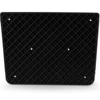 Heckschutzplatte 300 x 220 mm für Außenborder
