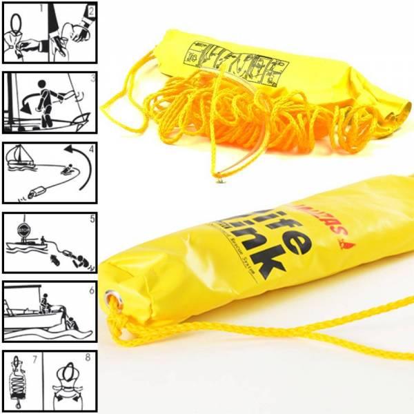 Wurfsack gelb Bild 1