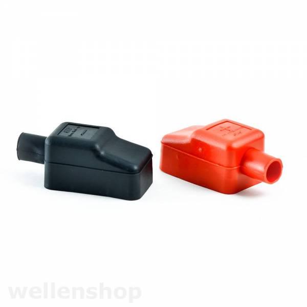 Batteriepolabdeckung 2er-Set rot und schwarz Bild 1