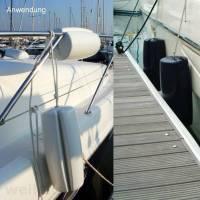 Ocean Clip-On Fender 46 cm Navyblau-