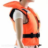 Rettungsweste 100 N 40-50 kg ohnmachtsicher Bild 3