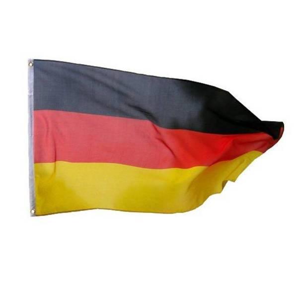 Deutschlandflagge 200 x 300 mm Bild 1