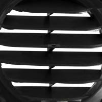 Lüftungsgitter Kunststoff 84 x 84 mm schwarz