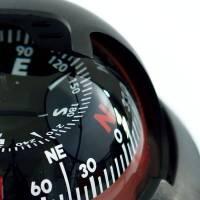 Kompass schwarz, beleuchtet Bild 2