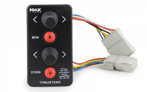 Joystick-Steuerung f. Max Power Bugstrahlruder und Heckstrahlruder Schwarz