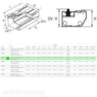 Nuova Rade Wassertank 80 L mit 12V Pumpe 8 L/min 7