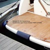 Ocean Eckfender 430 x 240 x 250mm Navyblau-