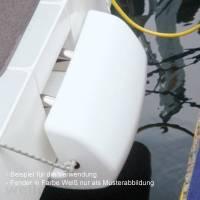 Ocean Heckfender 600 x 320 x 250mm Navyblau-