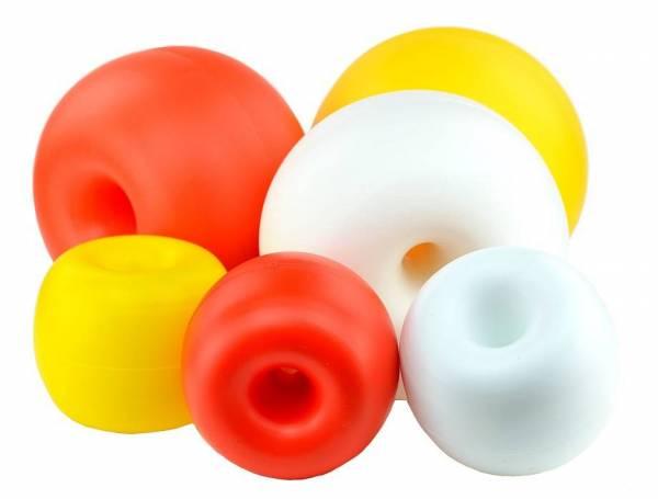 Schwimmkörper Polyethylen, Ø 190mm, Weiß-