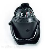 Kompass beleuchtet schwarz, 12V LED-