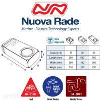 Wasseranschluss-Deckel für Nuova Rade Tank Diablo Tankdeckel