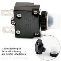12V Schaltpaneel mit Zigarettenanzünder-Buchse-