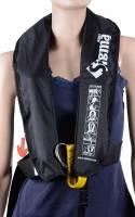 Rettungsweste Lalizas Sigma 170N manuelle & automatische Auslösung schwarz ab 40kg