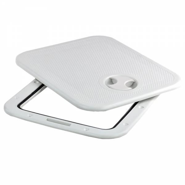 Inspektionsluke Weiß, 36 x 31 cm
