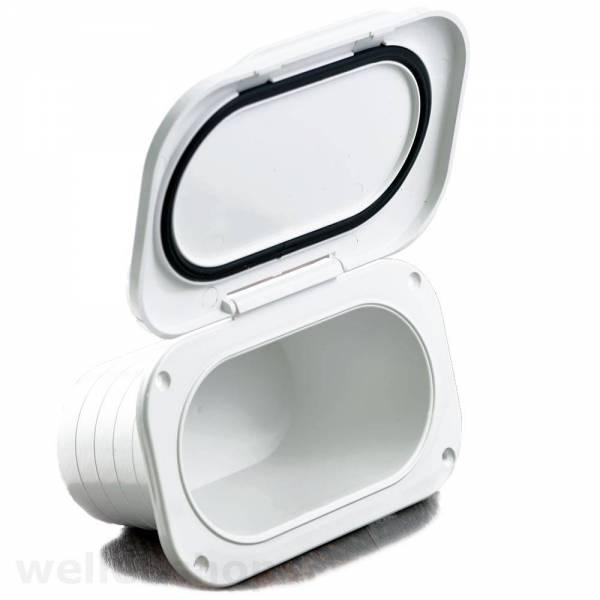Einbaukonsole Ablagefach Klappbox 175x115x90mm-