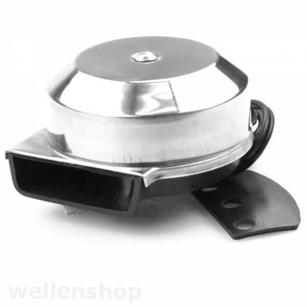 Hupe Signalhorn 12 Volt 90 - 95 dB Edelstahl