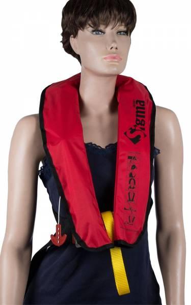Rettungsweste Lalizas Sigma 170N manuelle & automatische Auslösung rot Bild 1