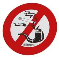 Aufkleber Rauchen verboten-