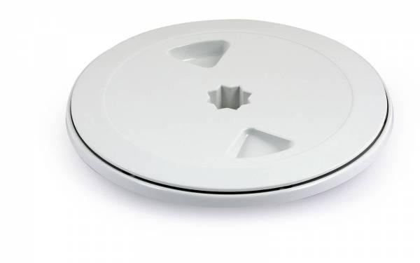 150 mm Inspektionsluke rund weiß Bild 1